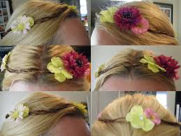floral hair wreath