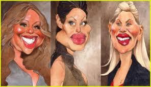 caricatures celebrities
