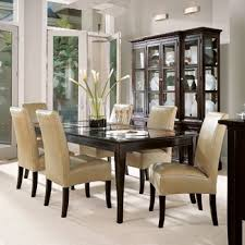 dining tables with glass top