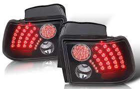 mustang black tail lights