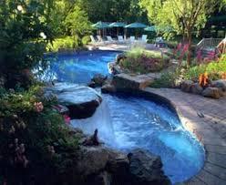 inground swimming pool landscaping