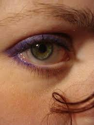 purple eye liner