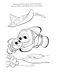 finding nemo colouring book