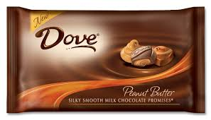 dove white chocolate