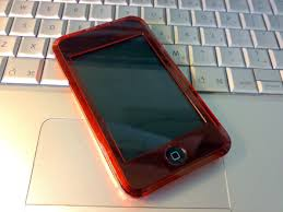 red ipod touch