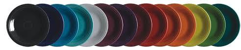 fiestaware plates