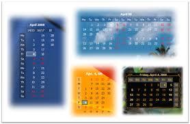 desktop calendar wallpapers