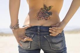 hummingbird flower tattoos