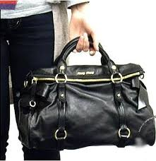 miu miu black bag
