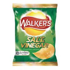 salt and vinegar crisps