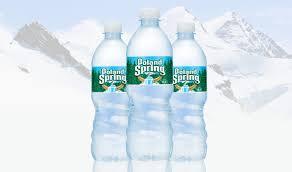 poland springs water bottles