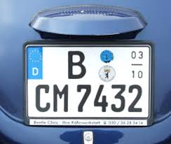 german licence plates