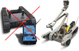 bomb disarming robots