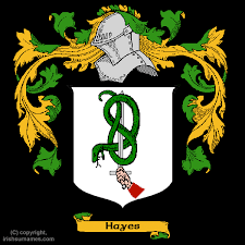 hayes coat of arms