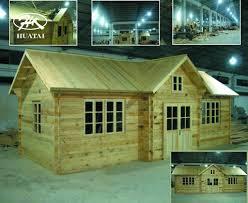 wooden building construction