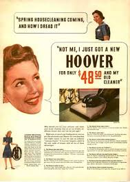old hoover vacuums