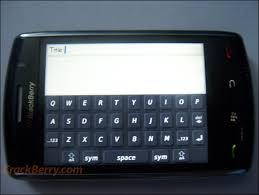 black berry touch