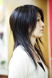 layered thin hair
