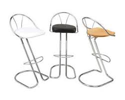 chrome stools