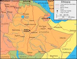 google map ethiopia