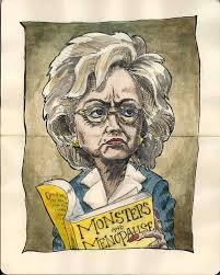 political caricatures