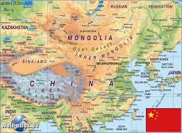 atlas map of china