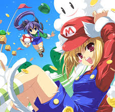 super mario girls
