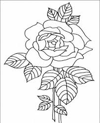 coloring flower pages