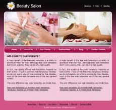 fashion web layouts