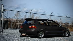 honda civic racing car