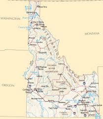 map of idaho cities