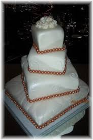 pictures of square wedding cakes