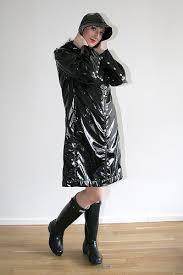 black raincoats