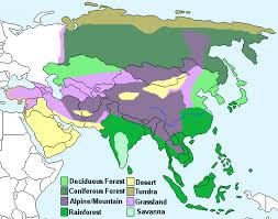 climate of east asia