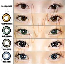 doll eyes contact lens