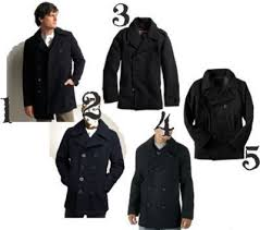 old navy mens pea coat