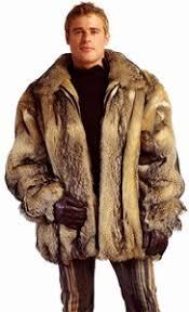 fur jacket men