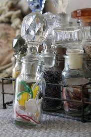 antique spice jars