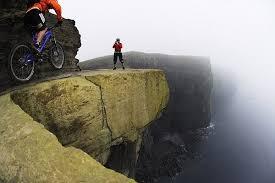 mountain biking trail