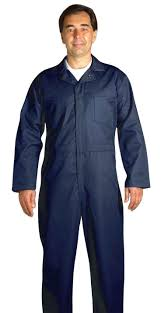 navy blue coverall