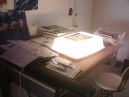 drawing light table