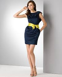 navy blue sweater dress