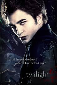 edward cullen twilight posters