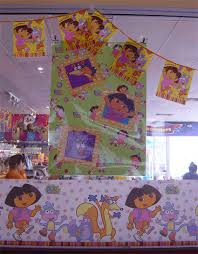 dora birthday decoration