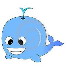 blue cartoon