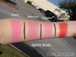 nars desire blush