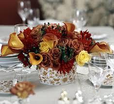 thanksgiving flower centerpieces