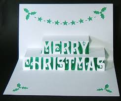 christmas card pop up