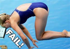 diving board fail
