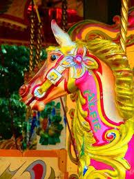 carousel horse art